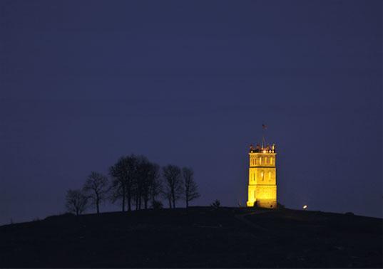 Slottsfjellet.